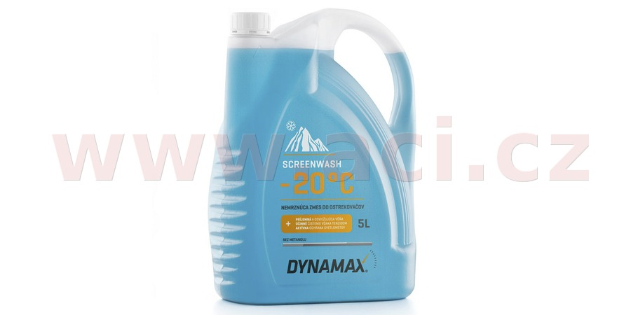 DYNAMAX SCREENWASH -20, winter screenwash 5 l